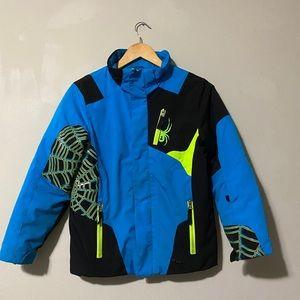 Spyder Boy's Challenger Jacket size 12
